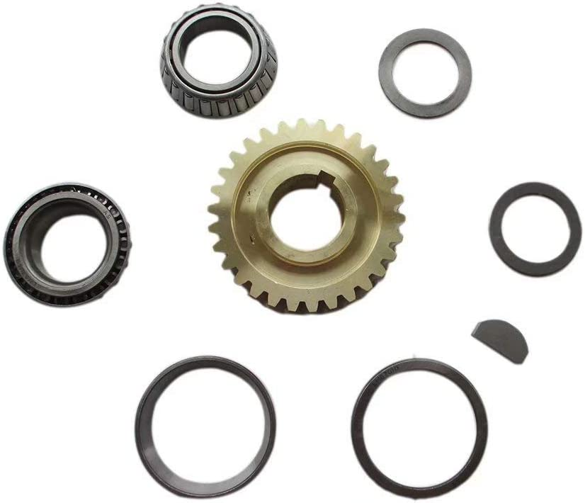Monsterjesus Horse New color Tiller Worm Gear Kit New Free Shipping Bearings Races GW-11572