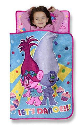 Trolls Cupcakes and Rainbows Toddler Nap Mat