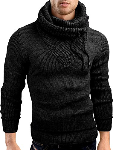 Grin&Bear Slim fit Pullover Grof gebreid vest heren, GEC555
