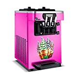 HOLPPO 110V/220V commercial soft serve ice cream machine automatic 18L/H R410/R22 stainless steel electric taylor ice cream maker HOLPPO (Production Capacity : 18L/H, Voltage (V) : 110V)