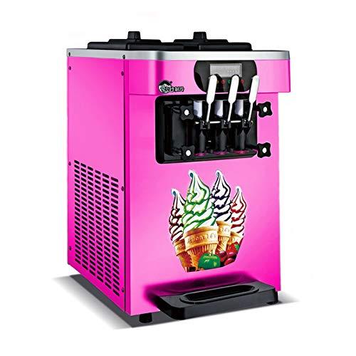 WENXIU 110V / 220V商業ソフトサーブアイスクリーム機械自動18L / H R R410 / R22ステンレス鋼電動テイラーアイスクリームメーカー (Production Capacity : 18L/H, Voltage (V) : 220V)