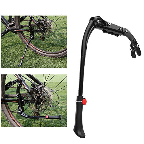 RIGTMAL 45-50cm Adjustable Aluminum Alloy MTB Mountain Bike Bicycle Kickstand Side Stand Holder