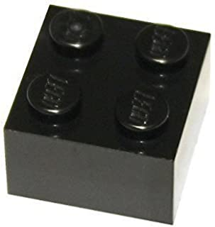 LEGO Parts and Pieces: 2x2 Black Brick x50