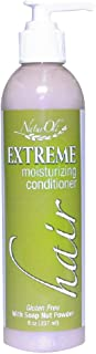 Sponsored Ad - NaturOli Extreme Hair Moisturizing Conditioner with USDA Certified Organic Soap Berry Powder! Gluten Free.