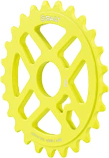 Salt Pro Sprocket 25t Matte Neon Yellow 23.8mm Spindle Hole With Adaptors for
