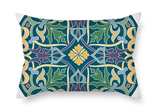 MaSoyy kussenslopen van Bohemian 12 X 20 Inches / 30 By 50 Cm, beste pasvorm voor vloer, thuisbioscoop, minnaar, bar, koppels, bar stoel twee zijden