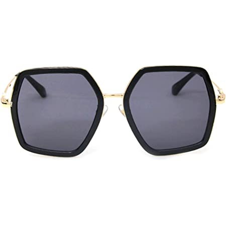Oversized Square Sunglasses Women UV Protection irregular Brand Designer Shades