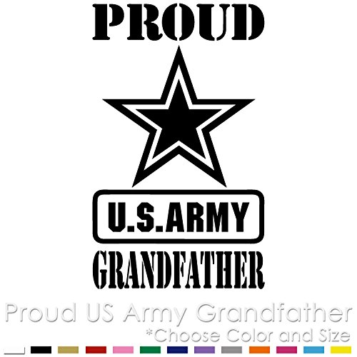 PG-01 Proud US Army Grandfather Vinyl Decal Sticker
