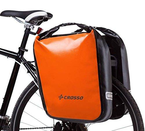 Crosso Dry Big Dry Big Unisex fietstas, volwassenen, oranje, 60 l