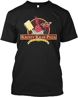 Krusty Krab Pizza - Spongebob 2 Tee|T-Shirt Black
