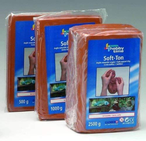 Soft-Ton, Modelliermasse terracotta 1kg