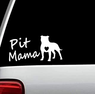 Best pitbull mom car decal Reviews
