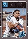2016 Panini Donruss Football #368 Ezekiel Elliott Rookie Card. rookie card picture