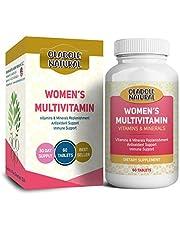 Oladole Natural Multivitamin for Women with Vitamin C, Vitamin D, B6, B12, Biotin, Calcium, & more, 60 Tablets