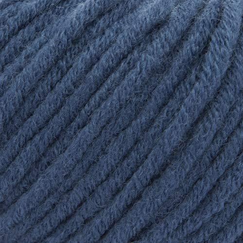ggh Aspen - Colore 099 - Ocean Blue - Lana Merino Miscela, mulesing Free, 50g Palla, Durata ca. 58m (63 yds), Needle Size 7-8, Maglieria, Uncinetto