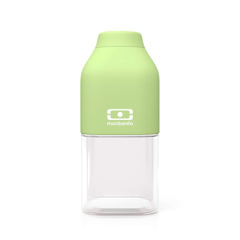 monbento - MB Positive S Verde Manzana 33cl Botella Agua sin BPA - Botella Agua niños - Ideal para el Deporte y la Escuela: Amazon.es: Hogar