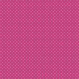 babrause® Baumwollstoff Pünktchen Pink Webware Meterware