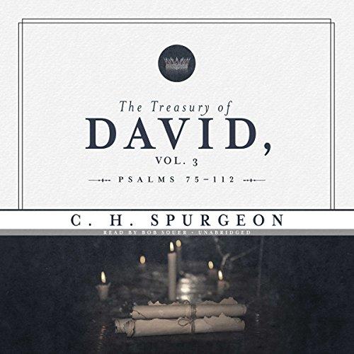 The Treasury of David, Volume 3 audiobook cover art