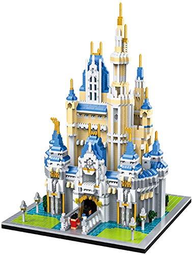 LNLJ Juego De Bloques De Construcción del Castillo De La Princesa, 6697 Pieza Creativa Bricolaje Niños Niñas Ladrillos 3D Rompecabezas Juguetes
