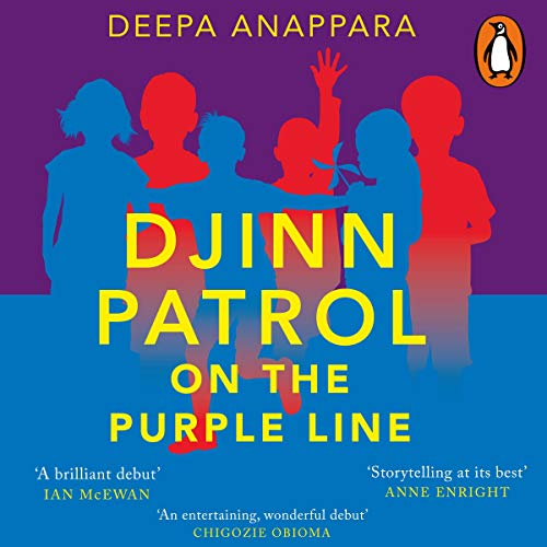 Djinn Patrol on the Purple Line cover art
