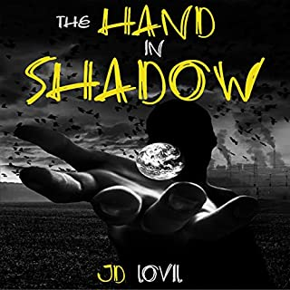 The Hand in Shadow audiobook cover art
