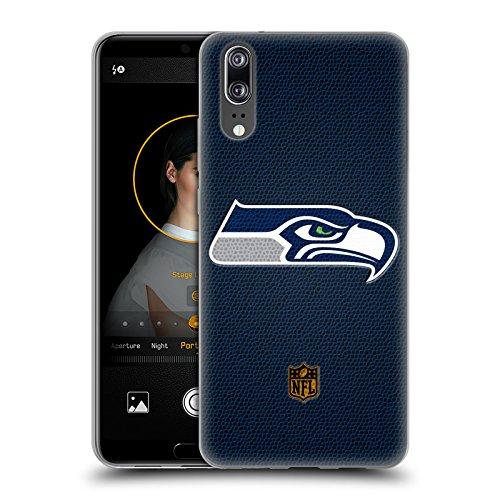 Head Case Designs Offizielle NFL Fussball Seattle Seahawks Logo Soft Gel Huelle kompatibel mit Huawei P20
