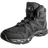 WDZJM Botas de Combate de Verano para Hombres Wading Senderismo Botas del ejército de Pesca Zapatos de Secado rápido Ligero Botas tácticas Anfibios Transpirables (Color : Black, Size : 43)