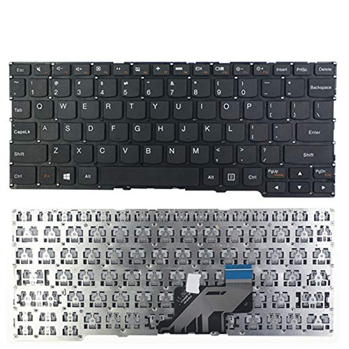 KEMENG New Laptop Replacement Keyboard for Lenovo Yoga 3 11 Yoga 300-11IBY 700-11ISK Flex 3 11, US Layout Compatible with UK