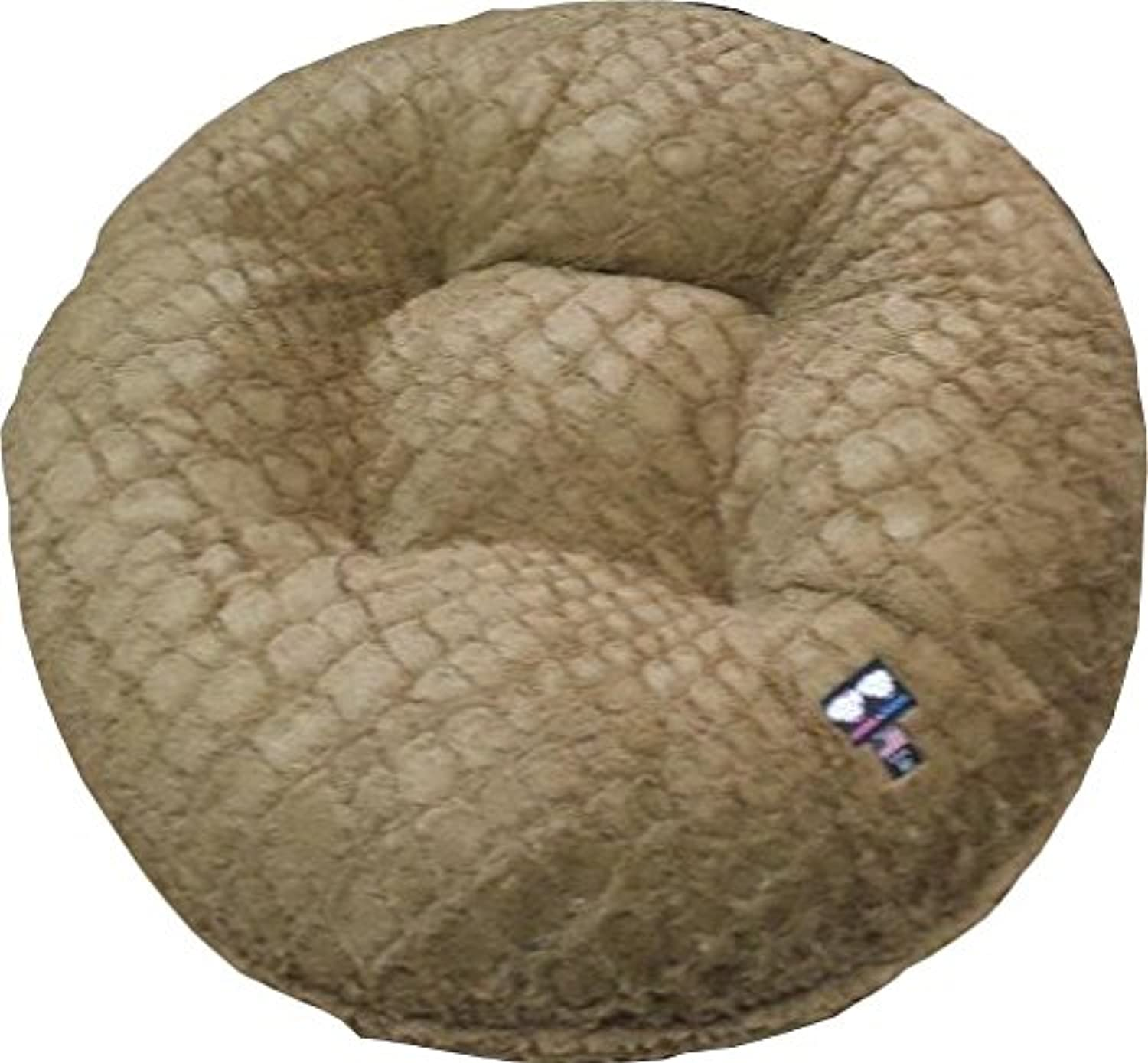 BESSIE AND BARNIE 24Inch Bagel Bed for Pets, XSmall, Grand Canyon