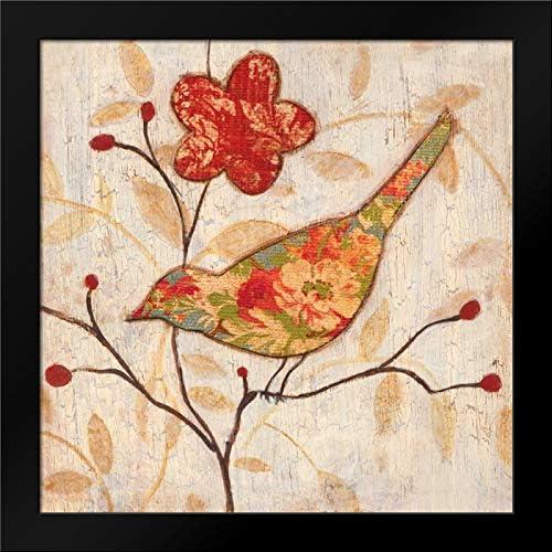 Tava Studios 20x20 Black Modern Framed Art Print Titled Song Bird Ii Revisited Amazon Ca Home Kitchen