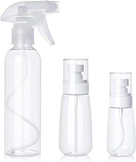 comprar comparacion Botella de spray PHYSEN botella de spray de alcohol vacía y transparente, botella de spray de planta botella cosmética ato...