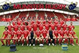 1art1 48765 Rugby - Munster Rugby, Team Foto Poster 91 x 61