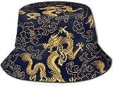 DUTRIX Sombreros de Cubo Transpirables de Parte Superior Plana Unisex Leopardo Animal Print Sombrero de Cubo Verano Sombrero de Pescador-Patrón de Graffiti-Talla única