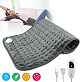 """Heating Pad,Electric Heating Pad 12""""x24"""" Large Heating Pads for Back Pain Auto Shut"""
