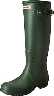 Womens Hunter Original Tall Winter Rain Festival Snow Wellington Boots - Hunter Green - 8
