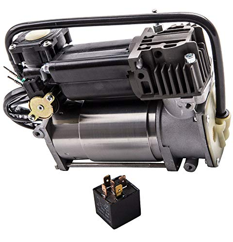 MGGRP Air Suspension Airmatic Compressor Pump + Relay for Phantom Pneumatic 4154033040 2000-2006