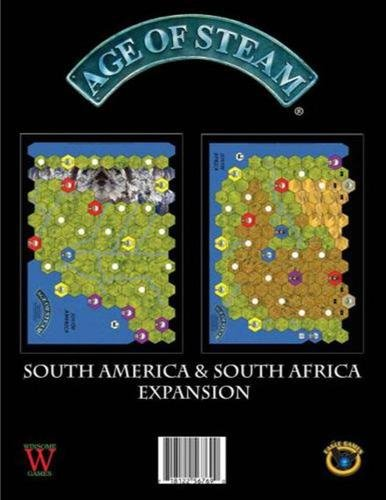 Eagle-Gryphon Games EAG01392 Brettspiel Age of Steam: South America