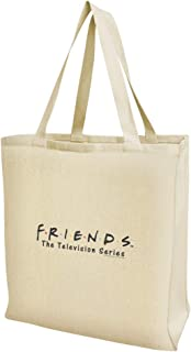 Friends Logo Grocery Travel Reusable Tote Bag