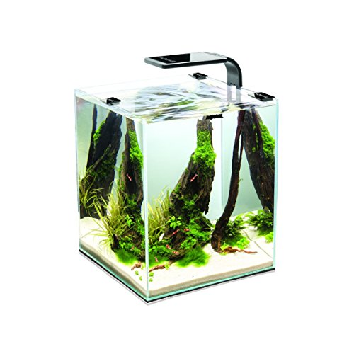 Aquael 5905546191425 Aquarium Shrimp Set Smart LED, Komplett Set Mit Morderner LED - Beleuchtung