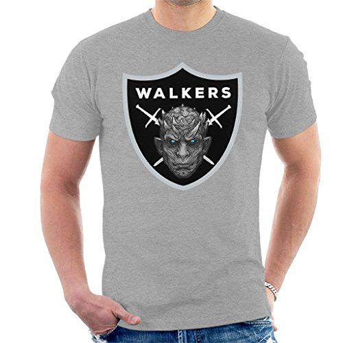Raiders Logo Night King Game of Thrones T-shirt voor heren