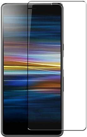 COPHONE® Verre trempé Compatible avec Sony Xperia L3, Film de Protection écran Premium Anti Chocs et Casse, Anti Empreintes, Bords arrondis,dureté Max 9H Tempered Glass 2,5d