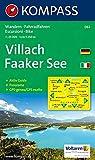 Villach, Faaker See: Wander- und Bikekarte. Carta escursioni e bike. Mit Panorama. GPS-genau. 1:25.000 -