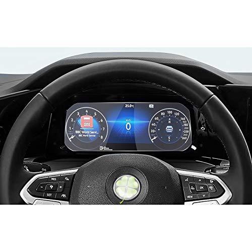 RUIYA Golf MK8 Active Info Display Schutzfolie Displayschutzfolie für Auto Navigation Kristallklar HD Kratzfest GPS Transparent Displayschutz [10.25 Zoll]
