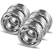 Coogam R188 Nano Stainless Steel 10 Ball Bearing for Fidget Spinner DIY Replacement,High Speed Smooth Quiet Durable,Pack of 5 (Size R188)