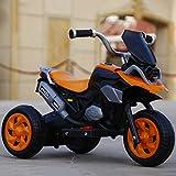 Lotee Niños Niños Rc Coche Ride-on Motocicleta eléctrica El bebé puede sentarse Coche eléctrico Música Luz Batería Triciclo Control remoto Coche de juguete Regalos for niños Juguetes educativos for ni