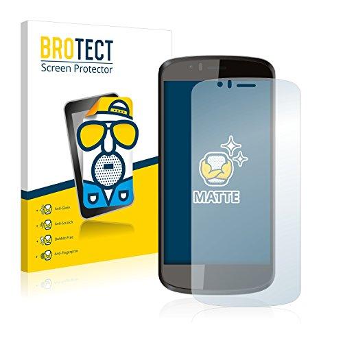 BROTECT 2X Entspiegelungs-Schutzfolie kompatibel mit Archos 50 Cesium Bildschirmschutz-Folie Matt, Anti-Reflex, Anti-Fingerprint