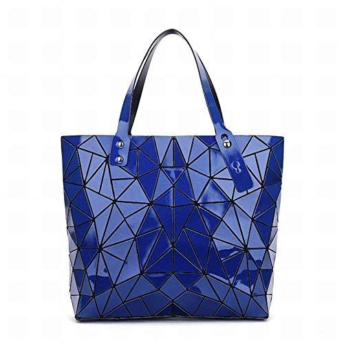 GZ dameshandtas, geometric of Messenger Bag leer PVC grote capaciteit dames handtassen