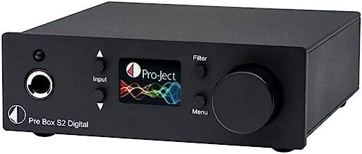 Pro-Ject Audiophile Home Audio/Video Product Black (Box - Pre Box S2 Dgt Black)
