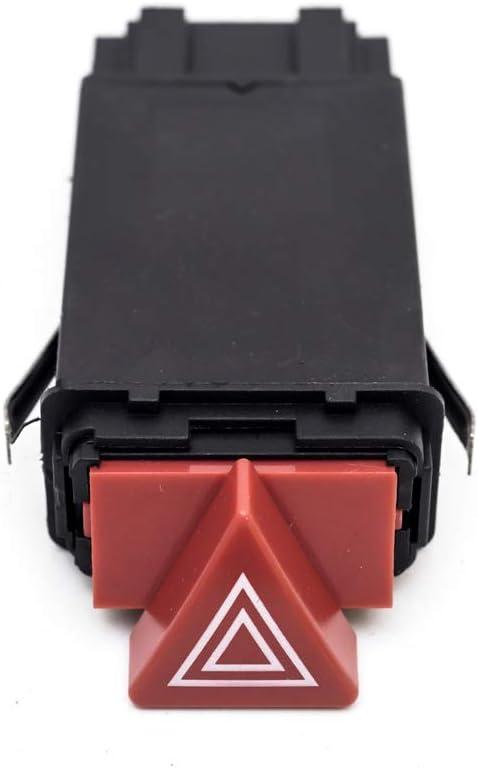 KUNFINE Replacement for Hazard Warning Light Switch 4B0 941 509K