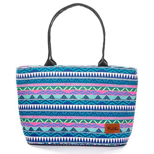 winmax Sac Isotherme Lunch Bag Grande Capacité 23L Sac Repas Portable pour Femme Enfant, Sac à Déjeuner pour Travail Ecole Camping, Sac Pique Niques pour Conservation et Fraîche de Nourriture